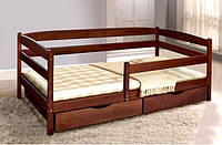 Односпальная кровать Ева из массива бука Микс Мебель 90х200