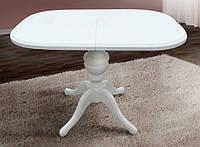 Стол обеденный раскладной Триумф Микс Мебель белый