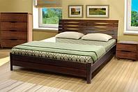 Кровать двухспальная Мария из массива бука Микс Мебель