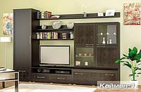 Гостиная Кайман-1 Мебель Сервис венге