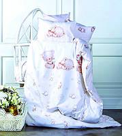 Постельное белье для новорожденных Ранфорс SWEETY Karaca Home