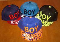Стильные кепки с прямым козырьком Boy