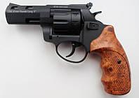 Револьвер под патрон Флобера Streamer R2  черный с коричневой рукоятью