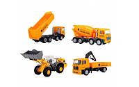 Машинки строительные набор Dickie 3315395