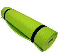 Коврик для фитнеса MOUNTAIN OUTDOOR зеленый,фиолетовый