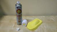 Баллончик жидкой резины Rubber Paint (матовый желтый)