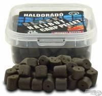 Пеллетс насадочный Haldorádó Black Halibut Carp 8 mm  70 гр.  Копченая колбаса