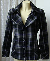 Пальто женское короткое демисезонное шерсть бренд Pimkie р.46-48 5932