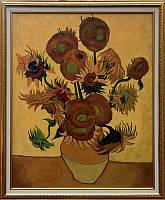 «Подсолнухи», копия картины Ван Гога картина маслом