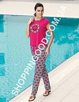 Женская пижама Mel Bee (Sahinler) MBP 22744, костюм домашний с брюками