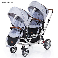 Детская прогулочная коляска для двойни ABC Design Zoom Style 2016