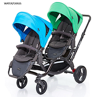 Детская прогулочная коляска для двойни ABC Design Zoom 2016