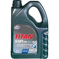 "Масло моторное полусинтетическое ""TITAN SYN PRO GAS 10W-40"", 4л"