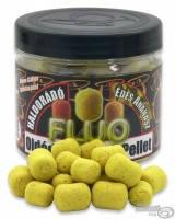Пеллетс насадочный   Haldorádó  Fluo растворимый плавающий 12-16 mm  70 гр.  Сладкий ананас