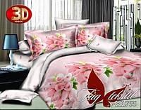 Комплект постельного белья,полисатин, 3D, PS-HL755, Наволочки (2 шт) 70*70 или 50х70