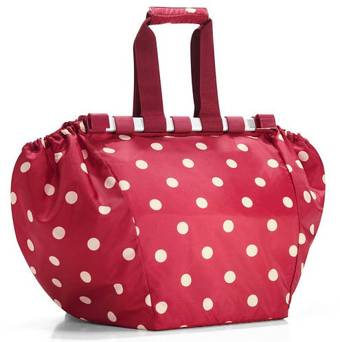 Классная сумка-трансформер для шопинга на 30 л Reisenthel UJ 3014-ruby dots