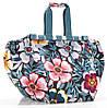 Чудесная сумка-трансформер для шопинга на 30 л Reisenthel UJ 4031-flower
