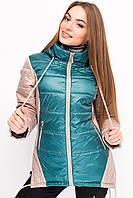 Женская куртка приталенного силуэта Letta- 024