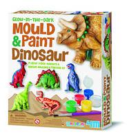 Набор творчества купить. Для детей от 7 лет. Гипс. Фигурки из гипса. Динозавры
