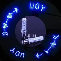 Светодиодная насадка на ниппель.LED подсветка колес для мото и авто велосипеда