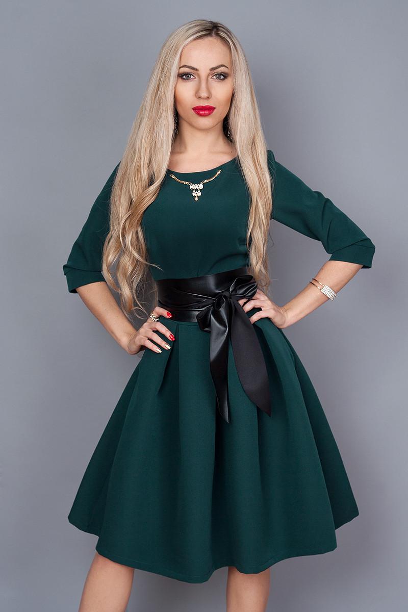 Фото платья с пышным низом