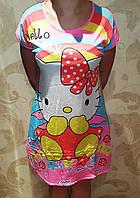 Женская ночная рубашка-туника Китти