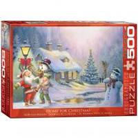 Красочные пазлы 'Рождественский домик., 500 элементов