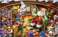 Рамки-вкладыши ' Дед Мороз читает письма, серия Миди ' Larsen XC1-2