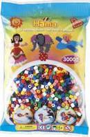 Бусины для термомозаики в пакете, 10 цветов ( Hama 201-00 )