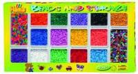 Набор цветных бусин для термомозаики 7200шт, 14 цветов и 2 цветовых микста, Hama  2092