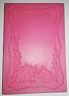Молд силиконовый для мастики Рамка
