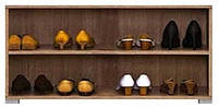 Тумба для обуви REG 4/8 Хоумлайн / Homeline BRW дуб sonoma темный