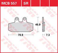 Комплект тормозных колодок TRW / Lucas MCB557