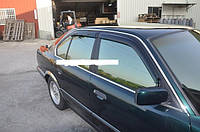 Дефлекторы окон (ветровики) на BMW 5 E-34 с 88-95 седан (Тайвань).