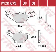 Комплект тормозных колодок TRW / Lucas MCB679