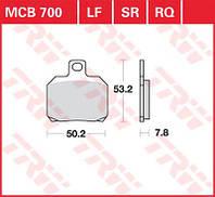 Тормозные колодки TRW / Lucas MCB700