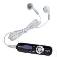 MP3 плеер Sony YT-01 с LCD экраном, наушниками и FM радио, Черный