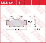 Тормозные колодки для скутеров Honda TRW / Lucas MCB534