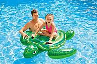 Надувная игрушка для плавания Гигантская Морская Черепаха Sea Turtle Ride-On Intex 56524