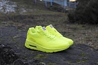Кроссовки Nike Air max 90 Hyperfuse салатовые