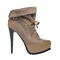 Ботинки женские весна осень на каблуке