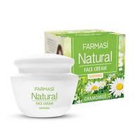 Успокаивающий крем для лица Natural с экстрактом ромашки (1104123)