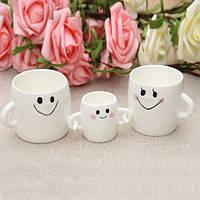 Чашки Семья Набор 3 в 1