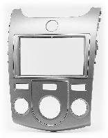 2-DIN переходная рамка KIA Cerato, Forte, Naza Forte 2009-2012 (Manual Air-Conditioning), CARAV 11-147