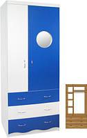 Шкаф для одежды «Мечта» ТМ МАКСИ-МЕБЕЛЬ