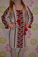 Платье вишиванка для девочек