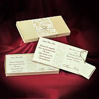 Свадебные пригласительные в велюровой коробочке, красивые приглашения на свадьбу с печатью текста