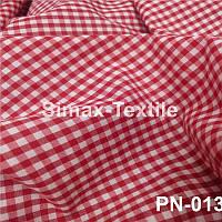 Ткань Рубашечная, рубашка, ткань на рубашку(Красный+Белый)