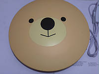 Декоративная наклейка - светильник Feron NL42 (Мишка)