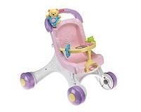 Детские ходунки коляска для кукол Fisher- Price